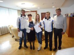 Učesnici Zimskih olimpijskih igara iz RS na prijemu  kod ministra