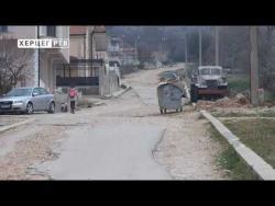 TREBINJE: Do sredine marta sanacija ulica u Vinogradima (VIDEO)