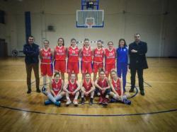 ŽKK Trebinje 03: 'Malene' nastavljaju sa pobjedama
