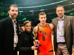 Svijet bolji od Amerike, sedam trojki i MVP trofej za Bogdanovića