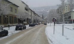 Foča: Visina snijega 40 centimetara, svi pravci prohodni