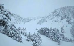 Na Orjenu preko metar snijega
