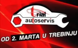 Pažnja! Auto servis 'Trial' od 2. marta u Trebinju
