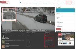 Novi servis na Herceg TV – UŽIVO stanje na putevima i graničnim prelazima