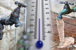 Kako da spriječite pucanje cijevi zbog niskih temperatura?