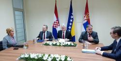 Počeo trilateralni sastanak u Mostaru