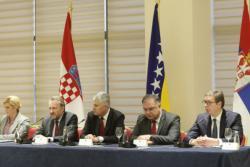 Trilateralni sastanak u Mostaru: Prioritet ekonomsko povezivanje