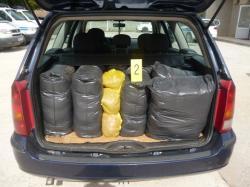 Zaplijenjeno 105,5 kilograma rezanog duvana
