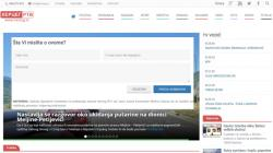 Komentari na portalu Herceg RTV - Gledaj, čitaj, komentariši
