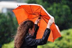 Narandžasti meteoalarm u većem dijelu BiH zbog obilne kiše i jakog vjetra