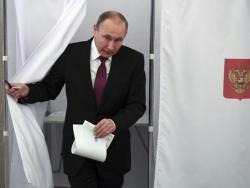 Putin glasao na predsjedničkim izborima