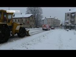 Početak proljeća donio snijeg u Nevesinje (VIDEO)