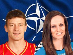 NATO podelio crnogorske sportiste