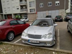 Gorio automobil u Trebinju