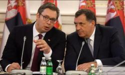 Predsjednici Vučić i Dodik na Vaskrs u Trebinju