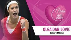 Olga Danilović novac od nagrade ITF-a donira dječijoj bolnici