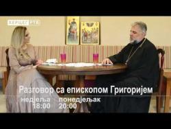 NAJAVA: Razgovor sa episkopom Grigorijem na Herceg RTV (VIDEO)