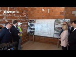 Predsjednici Vučić i Dodik obišli radove na izgradnji vrtića 'Srbija' (VIDEO)