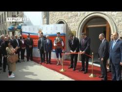 Trebinje: Dodik i Vučić otvorili Konzularnu kancelariju Srbije (VIDEO)