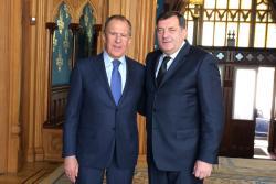 Dodik: Od Lavrova ću tražiti veto na rezoluciju