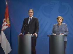 Merkel sa Vučićem: Srbija ima ključnu ulogu za Kosmet i BiH