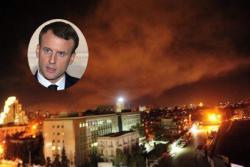 Makron: Naredio sam napad jer je pređena crvena linija; Mej:  Naredila sam napad na Siriju, cilj je oslabiti Asada