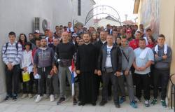 Devedeset hodočasnika iz Nevesinja jutros krenulo za Ostrog