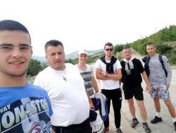 Na pokloničko putovanje  krenulo i šest momaka iz Berkovića