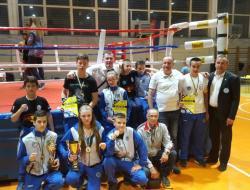 Кик боксерима Вележа три титуле државног првака