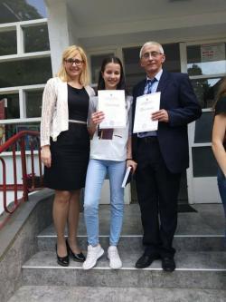 Невесињка Елена Голијанин републички првак из српског језика
