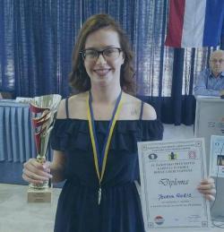 Bilećanka Jelena Gušić prvakinja BiH u šahu
