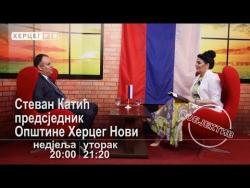NAJAVA: Prvi čovjek Herceg Novog Stevan Katić gost novog 'Objektiva' (VIDEO)
