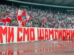 Zvezda slavi titulu, 50.000 navijača na ulicama Beograda