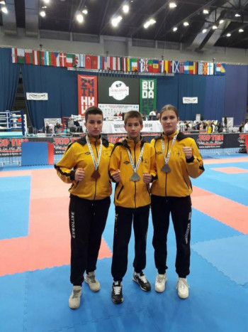 Članovima KBV 'Nevesinje'  tri medalje u Budimpešti