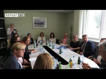 Višečlana delegacija UNDP-a sa partnerima posjetila Nevesinje (VIDEO)