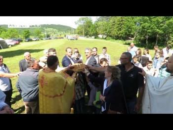 Nevesinje: Crkva na Odžaku proslavila krsnu slavu (VIDEO)