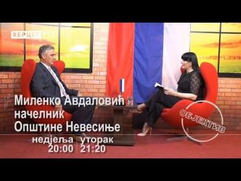 NAJAVA: Milenko Avdalović gost novog 'OBJEKTIVA' na Herceg RTV (VIDEO)