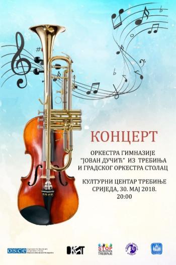 NAJAVA: Koncert školskog orkestra Gimnazije 'Jovan Dučić'