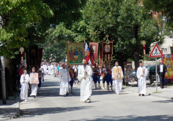 Свечано прослављен Тројичиндан – Крсна слава Општине Гацко и Саборног храма
