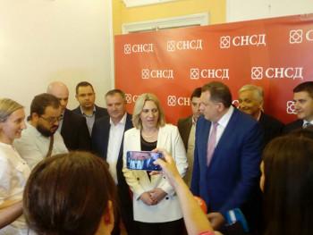 Željka Cvijanović kandidat SNSD -a za predsjednika Srpske