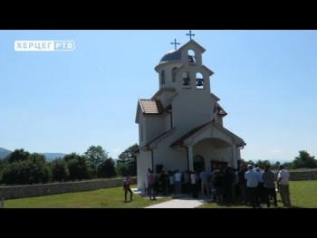 Slavske svečanosti u Pridvorcima kod Nevesinja (VIDEO)
