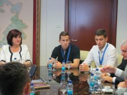 Ministarka Davidović na prijemu sa zlatnim