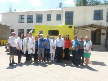 Dom zdravlja u Ljubinju dobio sanitetsko vozilo od Šveđana