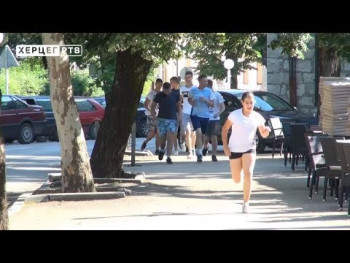 U Bileći održana 'Liga trčanja'  (VIDEO)