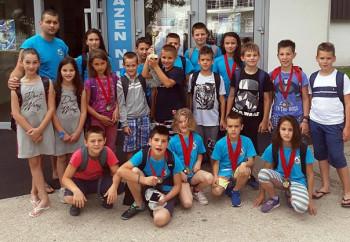 Za članove PVK Leotar 27 zlatnih medalja i pehar