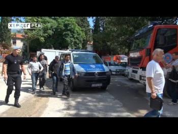 Uhapšeni migranti u Gacku, dvije racije u Trebinju (VIDEO)