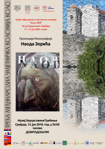 Večeras u Muzeju Hercegovine promocija Monografije Naoda Zorića