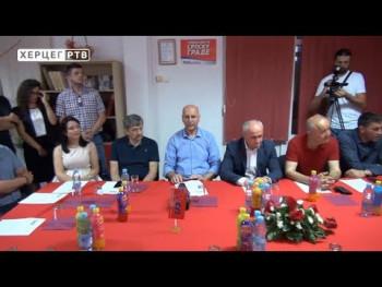 Đokić u Trebinju: Očekujemo najmanje jedan direktan mandat iz Hercegovine (VIDEO)