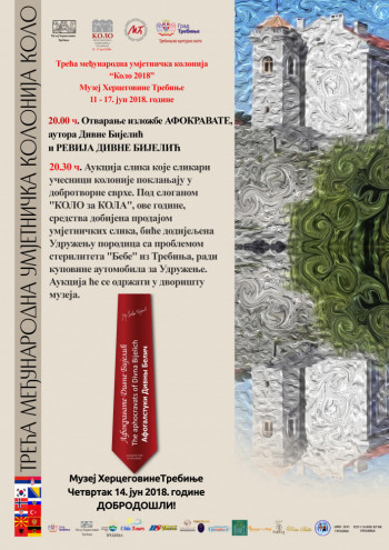 U Muzeju Hercegovine večeras izložba 'Afokravate' i aukcija slika