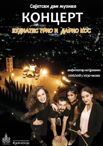 Najava: Koncert muzičkog sastava Eudiates trio